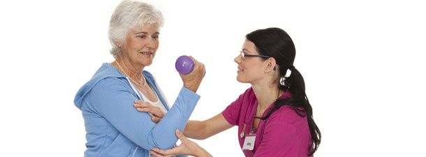 Work with a physical therapist in McHenry