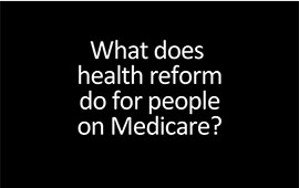 healthcare reform for medicare patients