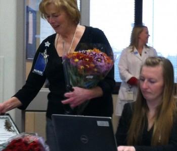 Kathleen Fischer nurse of the year 2013