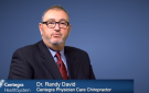 Get to know Dr. Randy David, Chiropractor – Centegra Physician Care