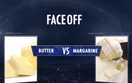 Faceoff butter vs margarine