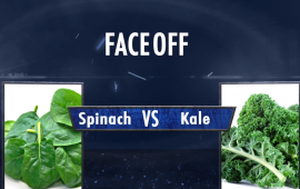 Faceoff spinach vs kale