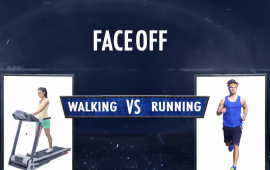 Faceoff walking vs running