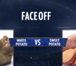 Faceoff white potato vs sweet potato