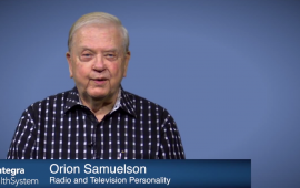 Orion Samuelson testimonial for receiving a pacemaker