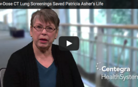 Low-Dose CT Lung Screenings Saved Patricia Asher's Life