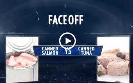 Faceoff Salmon vs tuna