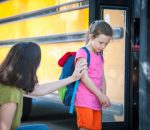 School Bus Series - Timid about Saying Goodbye