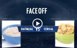 centegra faceoff oatmeal vs cereal